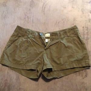 Olive Shorts!